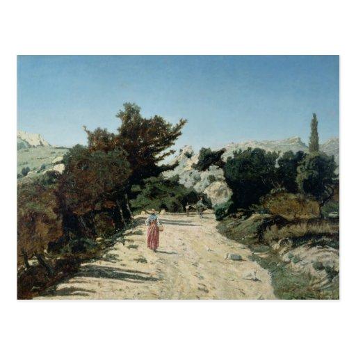 Route de la Gineste, near Marseilles, 1859 Post Cards