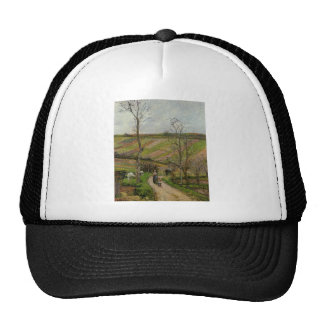 Route du Fond in Hermitage, Pontoise by Camille Trucker Hat