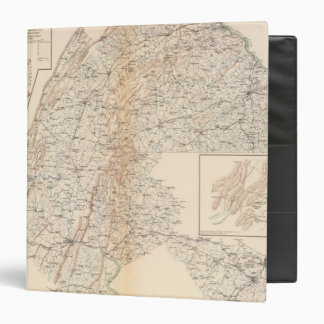 Route, Gettysburg campaign 3 Ring Binder