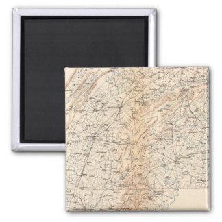 Route, Gettysburg campaign Fridge Magnets