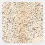 Route, Gettysburg campaign Stickers