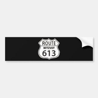 Route Mitzvot 613 Bumper Sticker