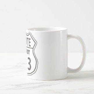 ROUTE MITZVOT 613 COFFEE MUG