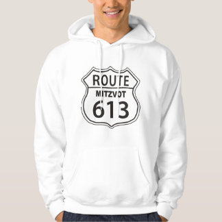 Route Mitzvot 613 Hoodie