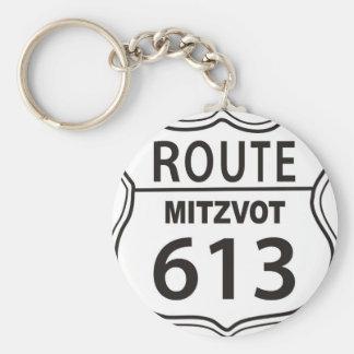 ROUTE MITZVOT 613 KEYCHAIN