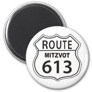 Route Mitzvot 613 Magnet