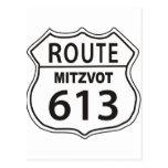 Route Mitzvot 613 Post Card
