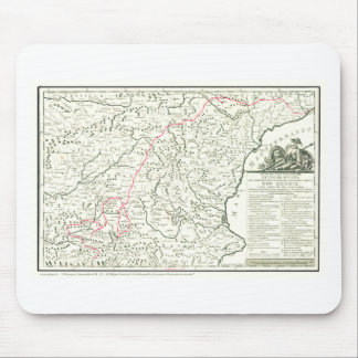 Route of  DON  QUIXOTE - 400 years - Cervantes Mouse Pad