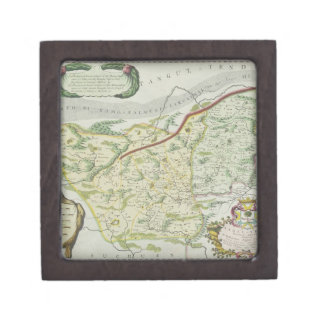 Route of Marco Polo Jewelry Box