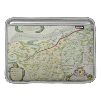 Route of Marco Polo MacBook Air Sleeve