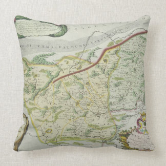 Route of Marco Polo Pillows