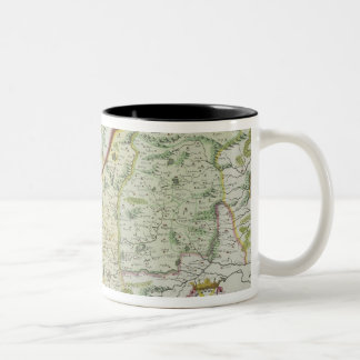 Route of Marco Polo Two-Tone Coffee Mug