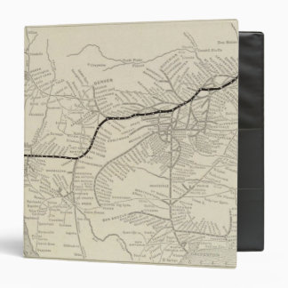 Route of the California Limited Vinyl Binder