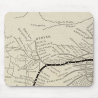 Route of the California Limited Mouse Pad