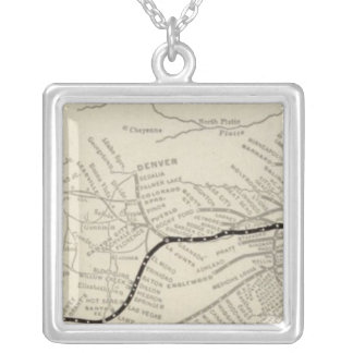 Route of the California Limited Silver Plated Necklace
