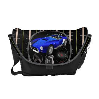 Route R Cool Car Monogram Courier Bag