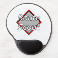 Route Scout Gel Mouse Pad