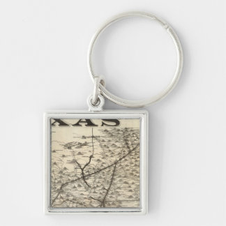 Route to Texas Key Chains
