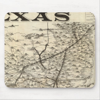 Route to Texas Mouse Pad