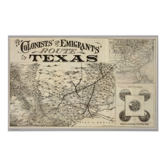 Route to Texas Poster