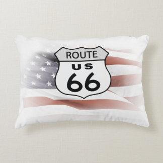 Route US 66 Accent Pillow