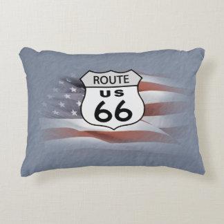 Route US 66 Decorative Pillow