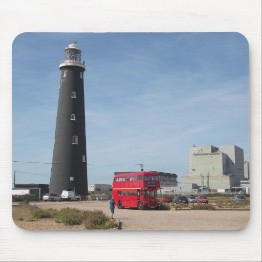 Routemaster at Dungeness Mouse Pad