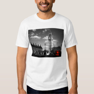 Routemaster bus and Big Ben T-Shirt