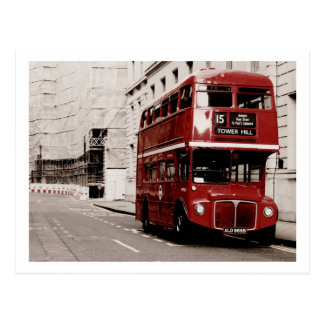 Routemaster Postcard