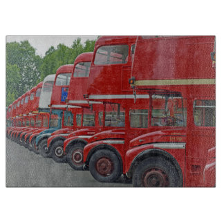 Routemasters glass cutting board
