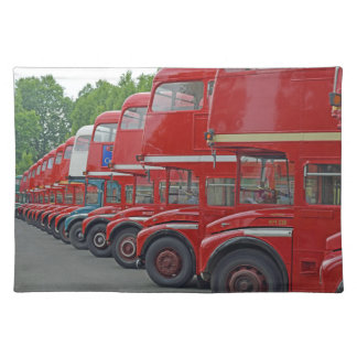 Routemasters placemat