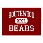Routhwood - Bears - Middle - Newellton Louisiana Greeting Cards