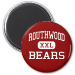 Routhwood - Bears - Middle - Newellton Louisiana Fridge Magnets