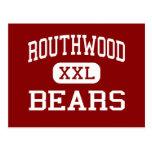 Routhwood - Bears - Middle - Newellton Louisiana Post Card