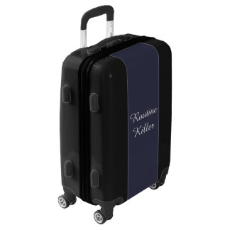 Routine Killer, Funny Carry On Luggage Suitcase