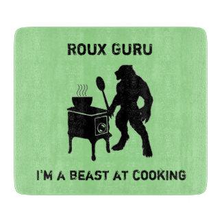 Roux Guru Rougarou Cajun Werewolf Cutting Board