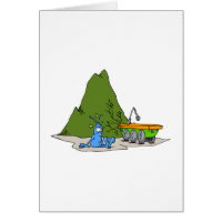 Rover Accident Greeting Card