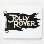 Rover alegre Mousepads Tapetes De Ratón