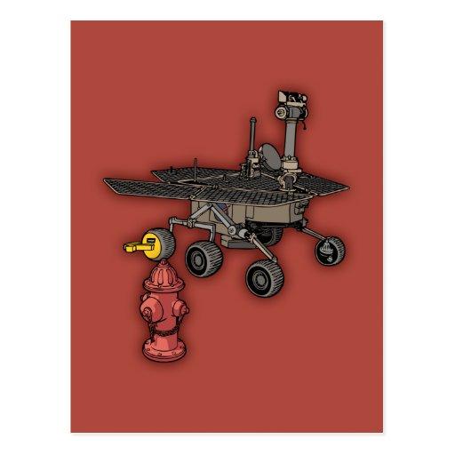 Rover consigue la bota tarjetas postales