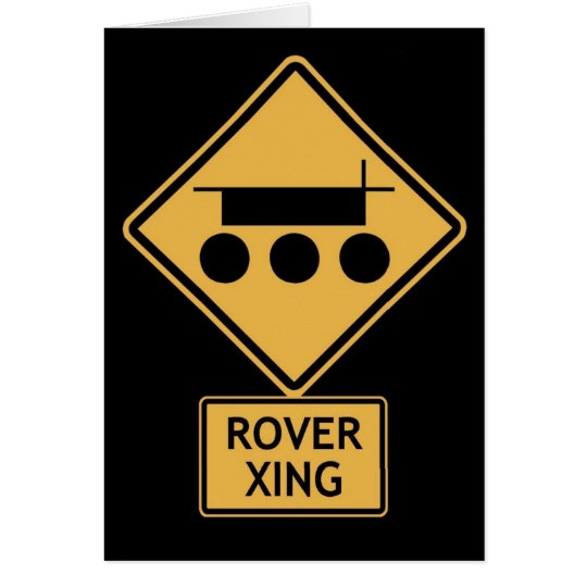 rover crossing card