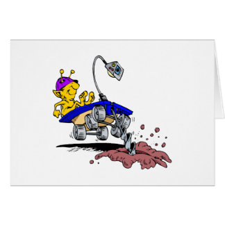 Rover Digger Greeting Cards