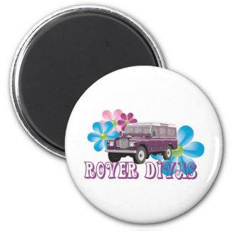 Rover Divas 2 Inch Round Magnet