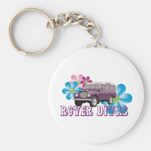 Rover Divas Key Chain