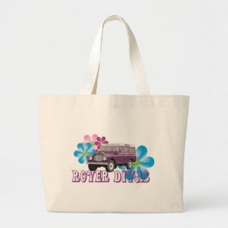 Rover Divas Large Tote Bag