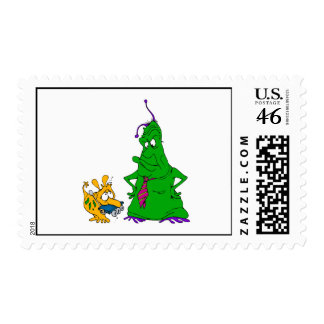 Rover fetches the Rover Postage Stamp