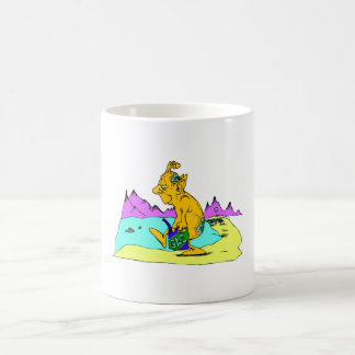 Rover out of gas classic white coffee mug