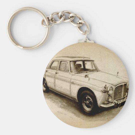 Rover P5 1968 Keychain