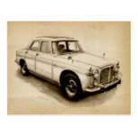 Rover P5 1968 Post Card