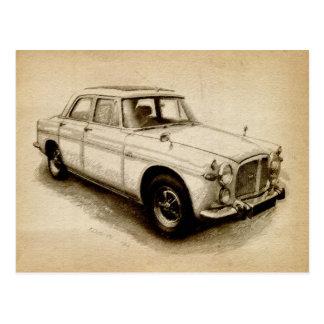 Rover P5 1968 Postcard