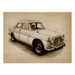 Rover P5 1968 Poster